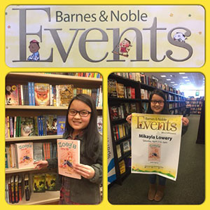 Mikayla Barnes and Noble book signing